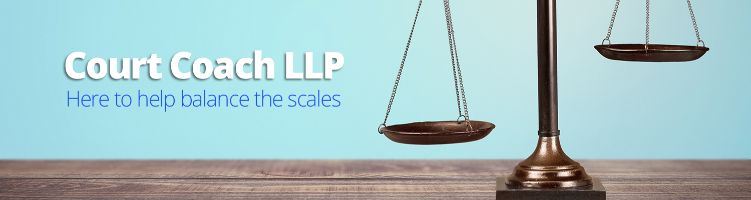 Court Coach LLP: here to help balance the scales.